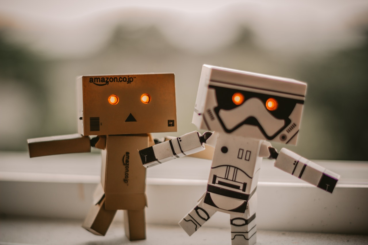Danbo and Star Wars Stormtrooper robot toys